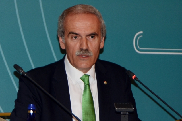 Recep Altepe, presıdent of marmara munıcıpalıtıes unıon  for the fourth tıme