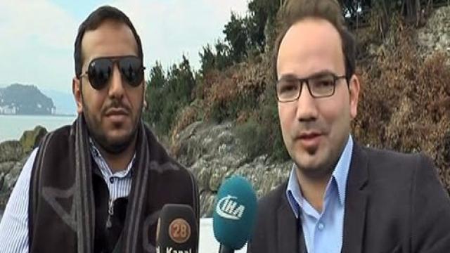 Araplar Karadeniz'de yeni yerler arayışında
